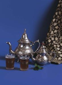 Arabský mátový čaj