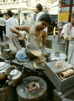 Indický čájvála