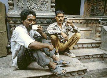 Pití čaje v Indii